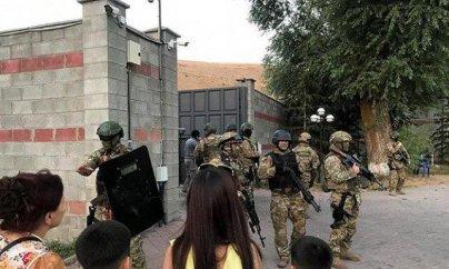 Atambayevin iqamətgahında yeni əməliyyat başlayıb
