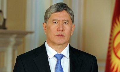 Atambayev polisə təslim olub