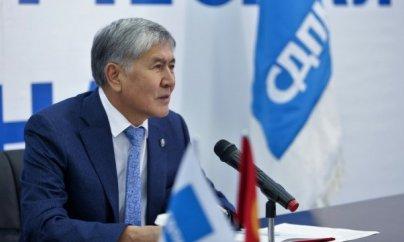 Atambayev korrupsiyada ittiham edilib