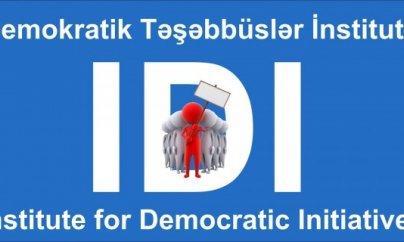 """İDİ: """"Azərbaycanda sərbəst toplaşmaq azadlığı ciddi şəkildə məhdudlaşdırılıb"""""""