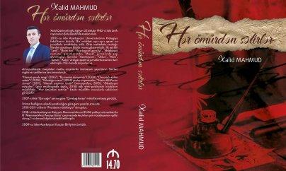 Xalid Mahmudun yeni kitabı işıq üzü görüb