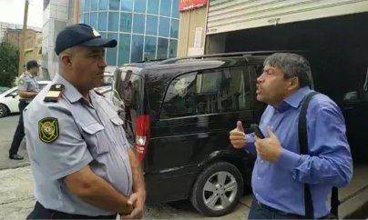 Polis jurnalistlərə təzyiq göstərir - VİDEO