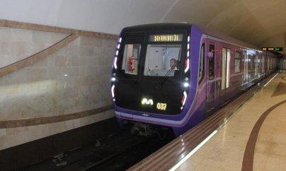 Bakı metrosunda yeni qatarda problem: Stansiyaya təcili yardım çağırılıb