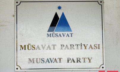 Müsavat Partiyası ittihamları rədd edir