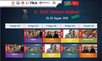 Paytaxtda Türk Filmləri Həftəsi olacaq