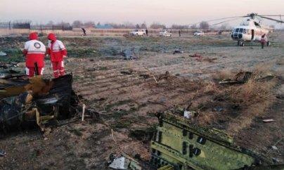 Ukrayna təyyarəsi İranda qəzaya uğrayıb