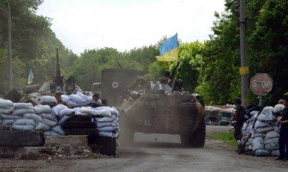 Ukraynanın şərqində ağır döyüşlər başladı