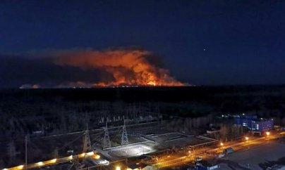Meşə yanğınları Çernobıla yaxınlaşır
