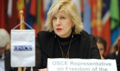 Dunya Miyatoviç: Jurnalistlərə əvəzsiz işlərinə görə təşəkkür etməliyik