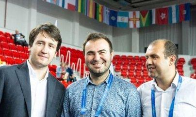 Şahmat üzrə Azərbaycan millisi Olimpiadada liderdir