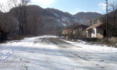 Kəlbəcərin Zülfüqarlı kəndinin görüntüləri (VİDEO)