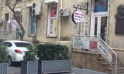 """""""Əli və Nino""""nun ofisi qarət olunub"""