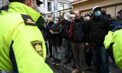 Tbilisidə polis və müxalifətçilər arasında qarşıdurma: saxlanılanlar var