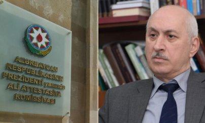"""Professor Ali Attestasiya Komissiyasını tənqid etdi: """"Elmə nifrət yaradırlar..."""""""