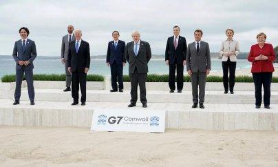 G-7 liderləri Çini tənqid etdilər