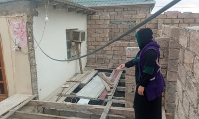 """""""İcra hakimiyyəti taxta evi söküb, bizi küçədə qoydu"""""""